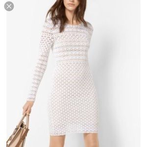 Michael Michael Kors crochet knit dress